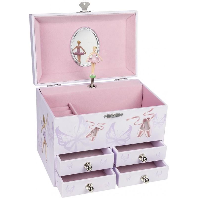 Boîte à musique, Ballerine VI avec tiroir - boîte à musique à prix de gros