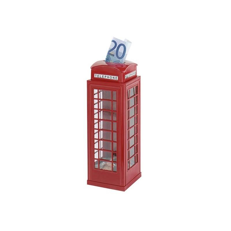 Tirelire au design de cabine téléphonique à prix de gros - Tirelire à prix grossiste