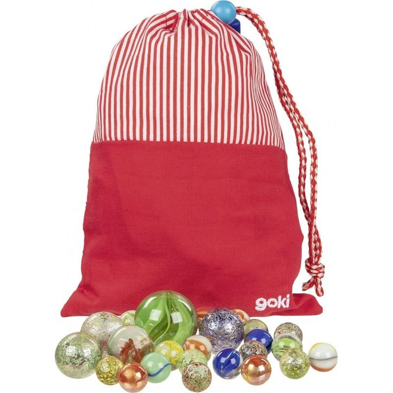 Mon sac de billes, 50 billes, Peggy Diggledey - billes à prix grossiste