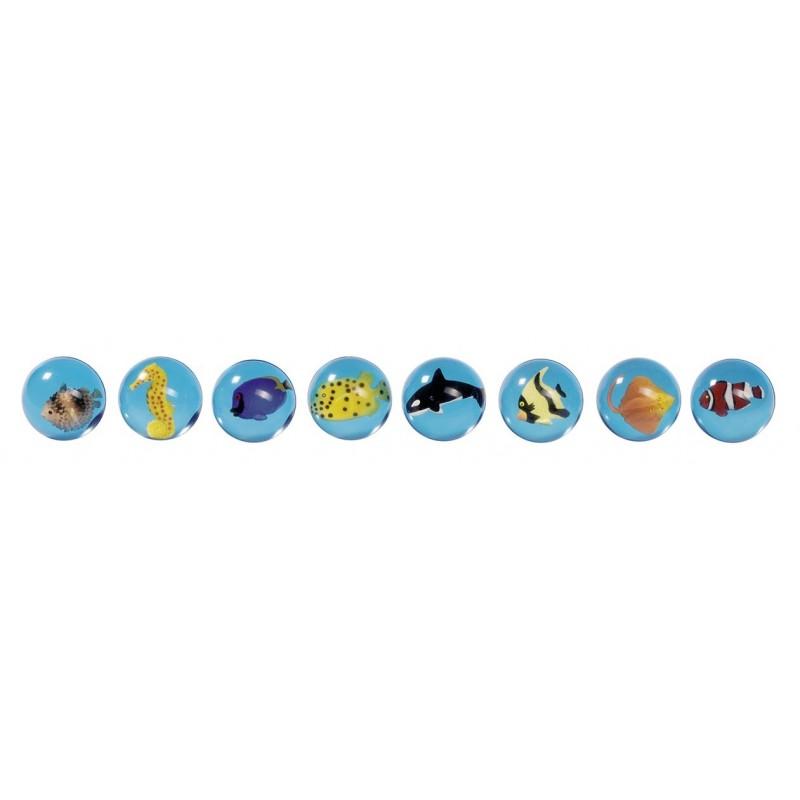 Balles de rebondissantes poissons à prix grossiste - Balle rebondissante à prix de gros