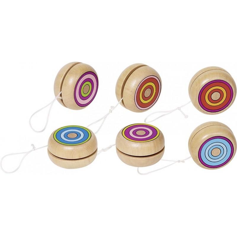 Yo-yo anneaux colorés - Yo-yo à prix de gros