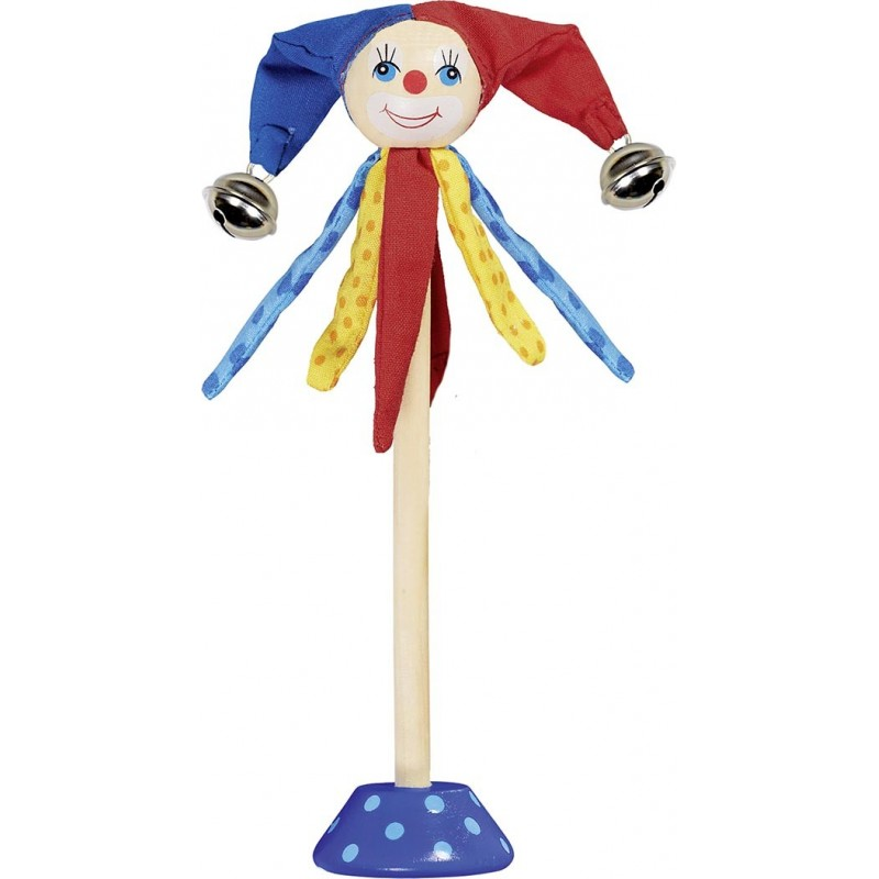 Joker Tamo avec 2 clochettes à prix de gros - Cloche à prix grossiste