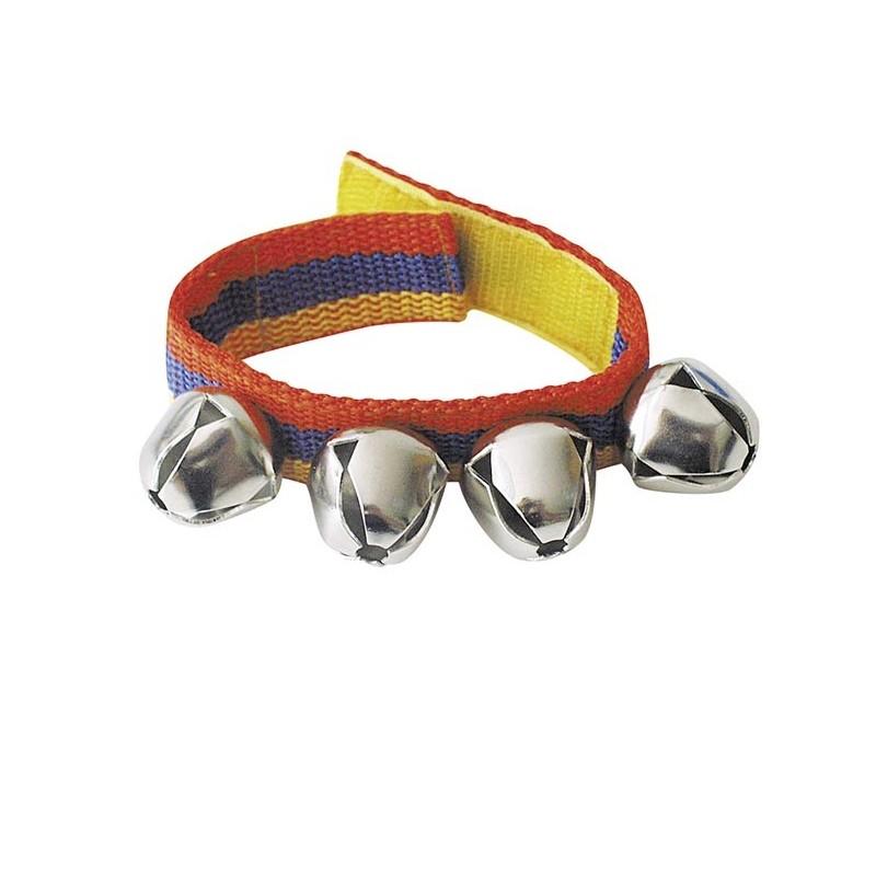 Bracelet avec 4 clochettes - Cloche à prix de gros