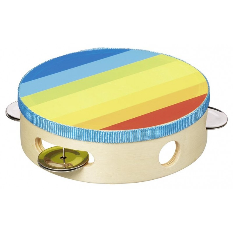 Tambourin avec clochettes - tambourin à prix grossiste