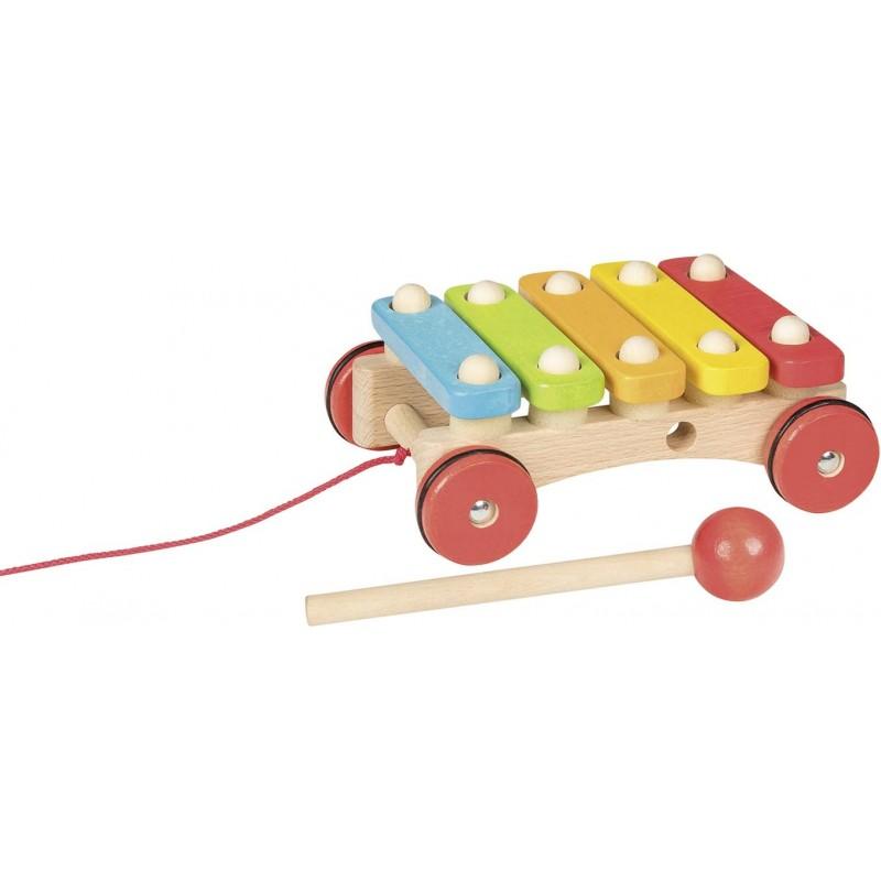 Xylophone à roulettes - xylophone à prix grossiste