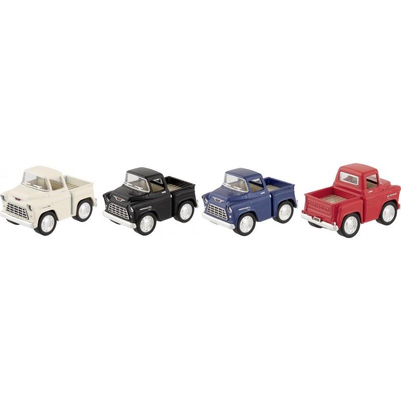 Pick-up Stepside Junior, en métal, L 5,3 cm - Voiture miniature à prix grossiste