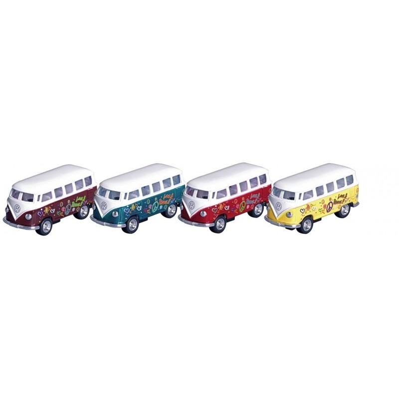 Volkswagen Microbus 1962, en métal, 1:64, L 6,5 cm à prix grossiste - Voiture miniature à prix de gros