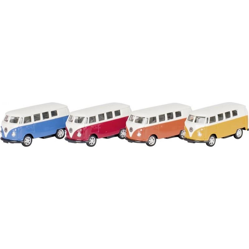 Volkswagen Microbus 1962, en métal, 1:60, L 7,3 cm à prix grossiste - Voiture miniature à prix de gros