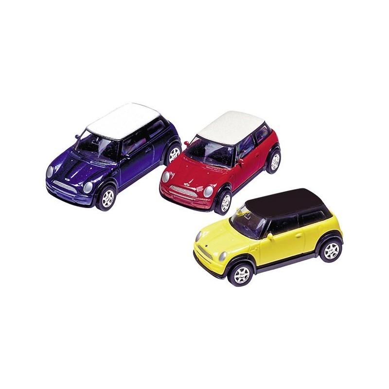 Mini Cooper 2001 en métal, 1:60, L 7 cm à prix grossiste - Voiture miniature à prix de gros