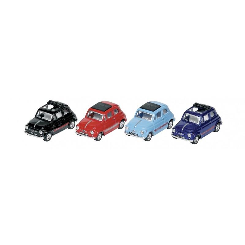 Fiat 500, 1:48, L 6,8cm à prix de gros - Voiture miniature à prix grossiste