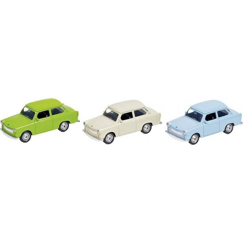 Trabant 601 en métal, L 7,6 cm à prix grossiste - Voiture miniature à prix de gros