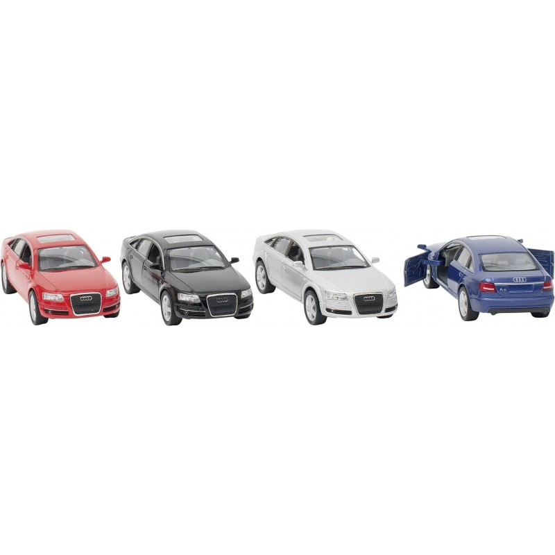 Audi A6 en métal, 1:38, L12,5 cm à prix de gros - Voiture miniature à prix grossiste
