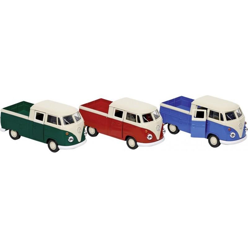 Volkswagen T1 DoKa Pick-up, en métal, 1:38, L 11,5 cm - Voiture miniature à prix grossiste