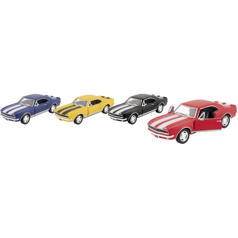 Camaro Z 1967 en métal, 1:37, L 12,8 cm - Voiture miniature à prix grossiste