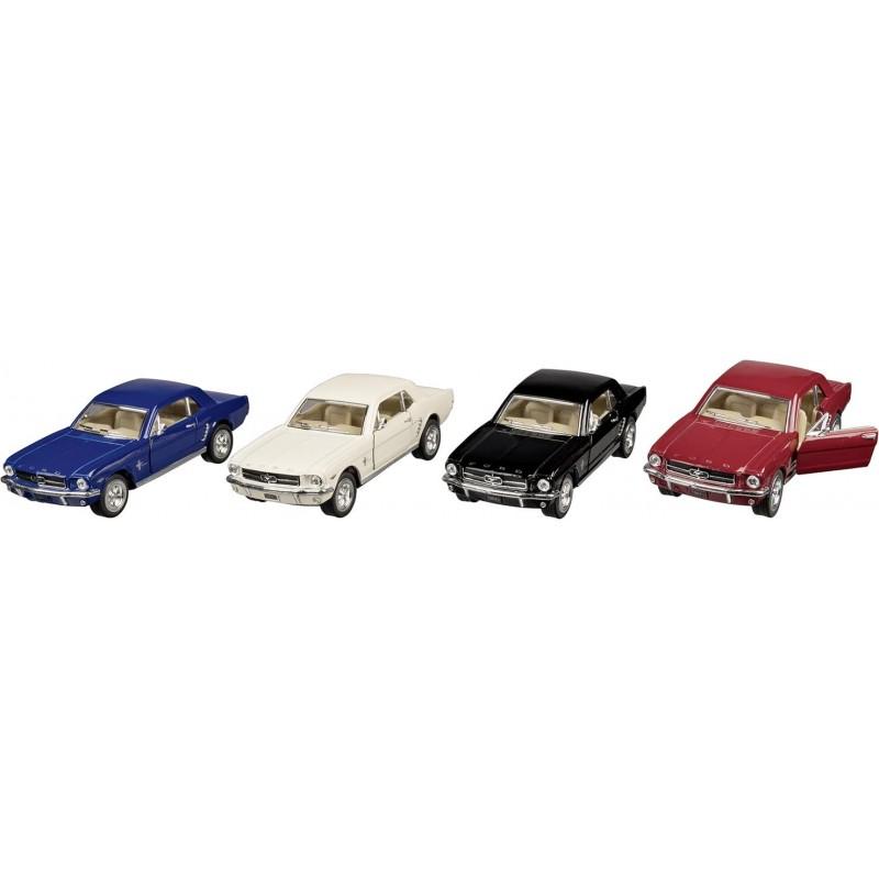 Ford Mustang 1964, en métal, 1:36, L 13 cm à prix grossiste - Voiture miniature à prix de gros