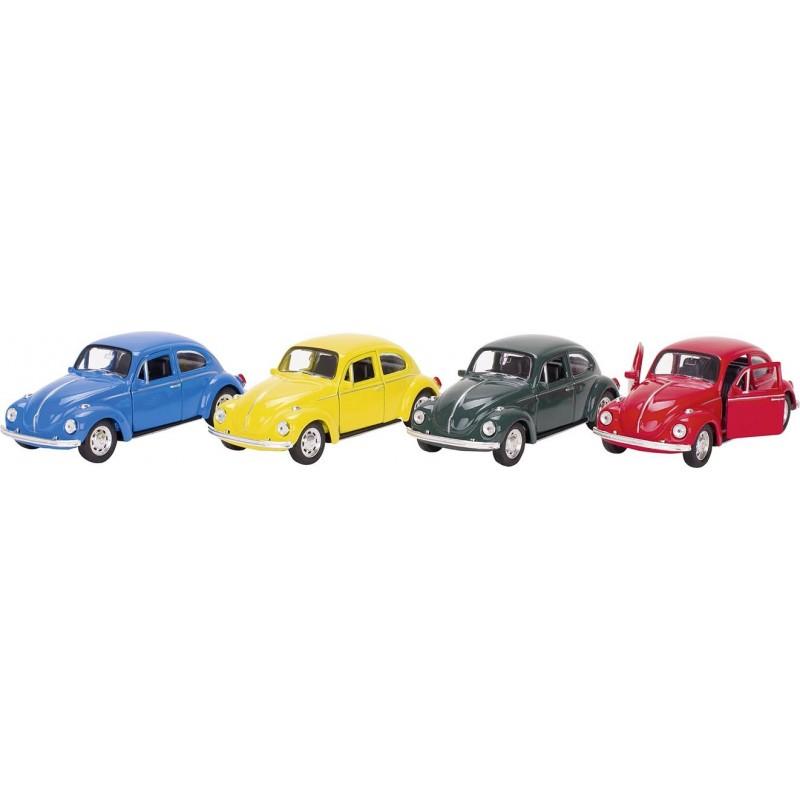 Volkswagen Coccinelle classique 1960, métal, 1:34, L 12cm à prix de gros - Voiture miniature à prix grossiste