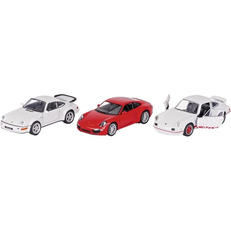 Porsche, en métal, 1:34-39, L 11,3 cm - Voiture miniature à prix grossiste