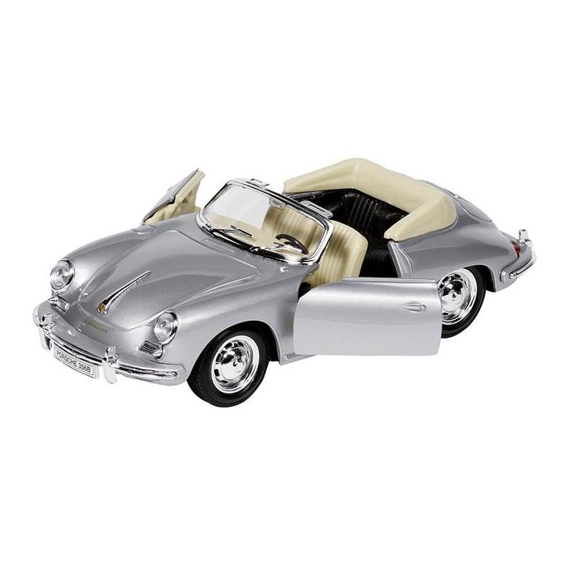 Porsche 356B Cabriolet, en métal, 1:24, L 18 cm à prix grossiste - Voiture miniature à prix de gros