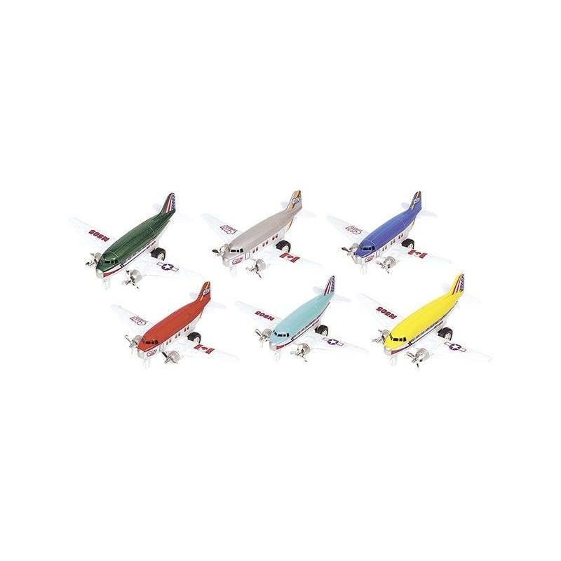 Avion, en métal, L 12 cm - Voiture miniature à prix de gros