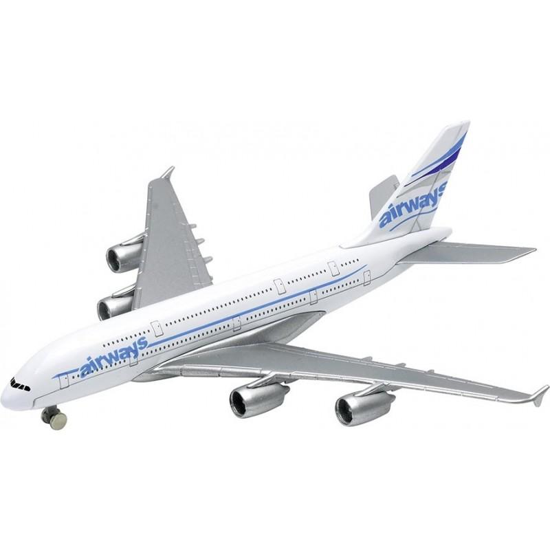 Avion, en métal, L 14,5 cm - Voiture miniature à prix de gros