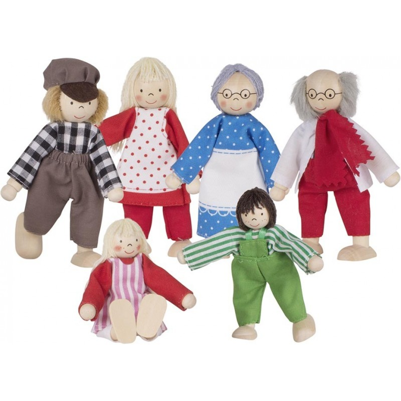 Famille, poupées articulées I à prix de gros - poupée à prix grossiste