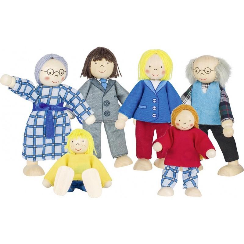 Famille citadine, poupées articulées - poupée à prix de gros