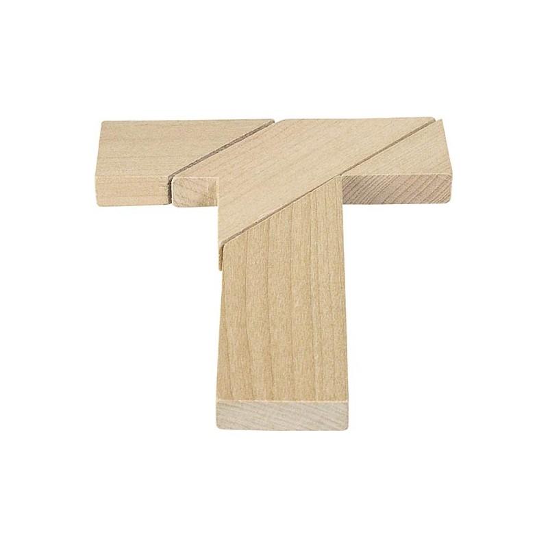 La lettre T, puzzle à prix grossiste - Jeu en bois à prix de gros