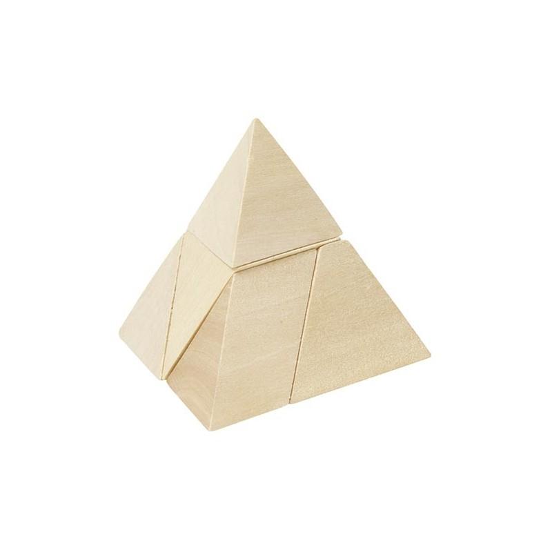 Pyramide à 3 côtés, puzzle à prix de gros - Jeu en bois à prix grossiste