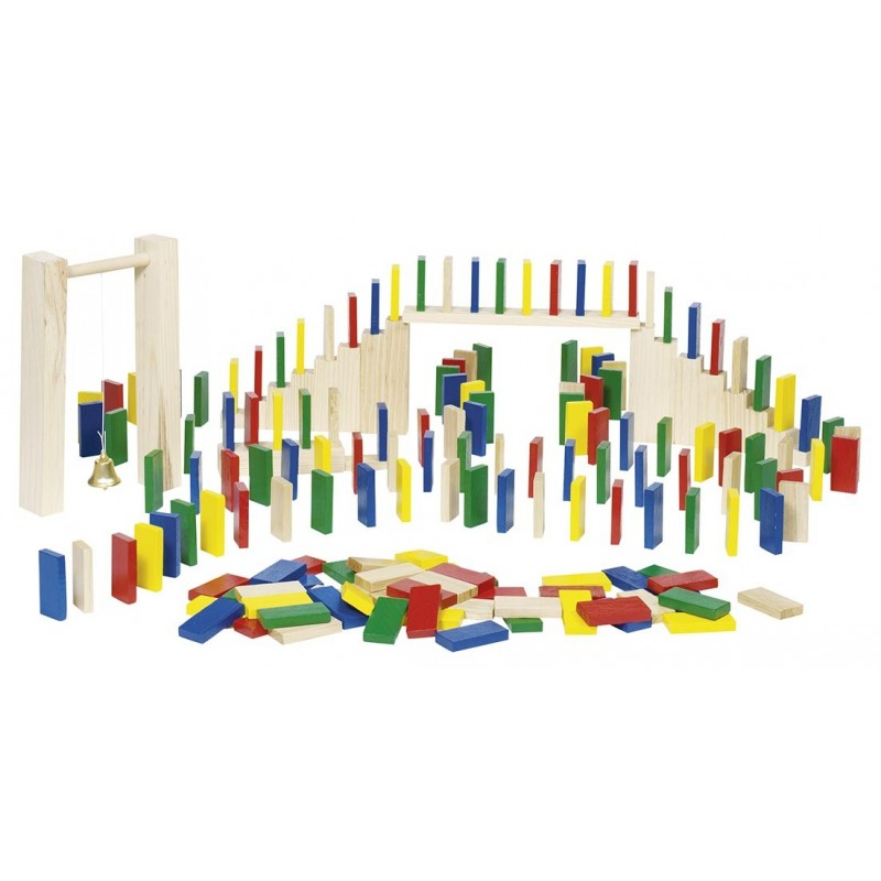 Rallye des dominos, sac en coton à prix de gros - Jeu de domino à prix grossiste