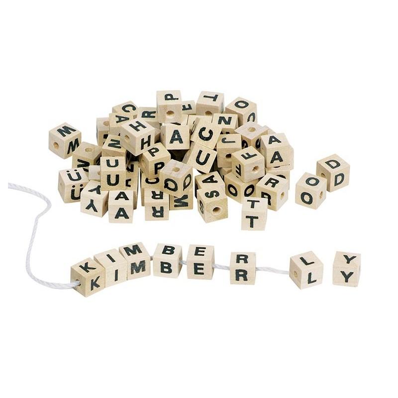 Assortiment de cubes-lettres - Cube à prix grossiste