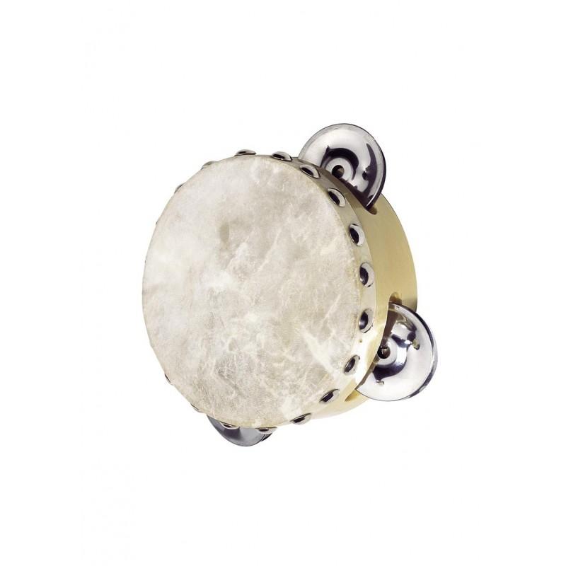 Tambourin avec 3 clochettes à prix grossiste - tambourin à prix de gros