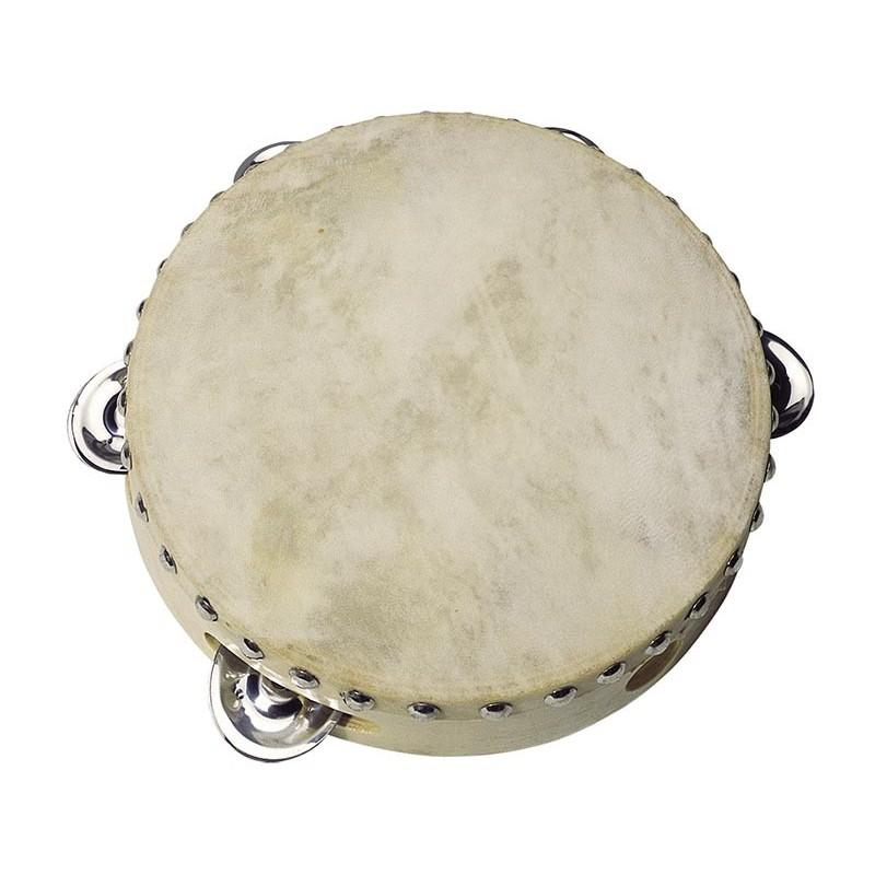 Tambourin avec 5 clochettes à prix de gros - tambourin à prix grossiste