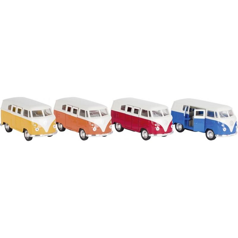 VW T1 Bus 1963, en métal, 1:37, L 11,5 cm à prix grossiste - Voiture miniature à prix de gros