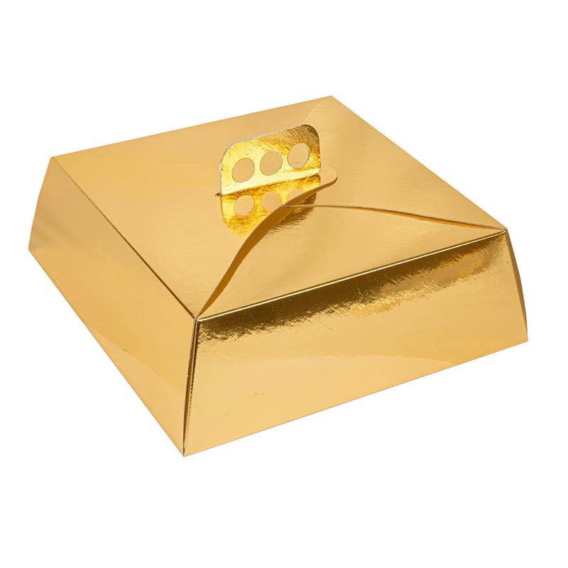Lot de 50 Boîtes Gâteaux Carrées à prix de gros - Boîte à biscuits à prix grossiste