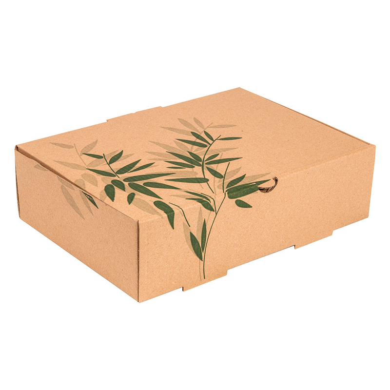 Lot de 100 Boîte Repas À Emporter Microcannelure - Boîte déjeuner à prix de gros
