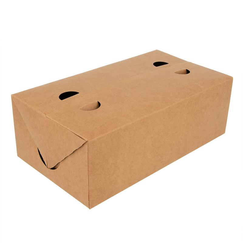 Lot de 50 Boîtes Repas À Emporter 300 G/M2 - Boîte déjeuner à prix grossiste