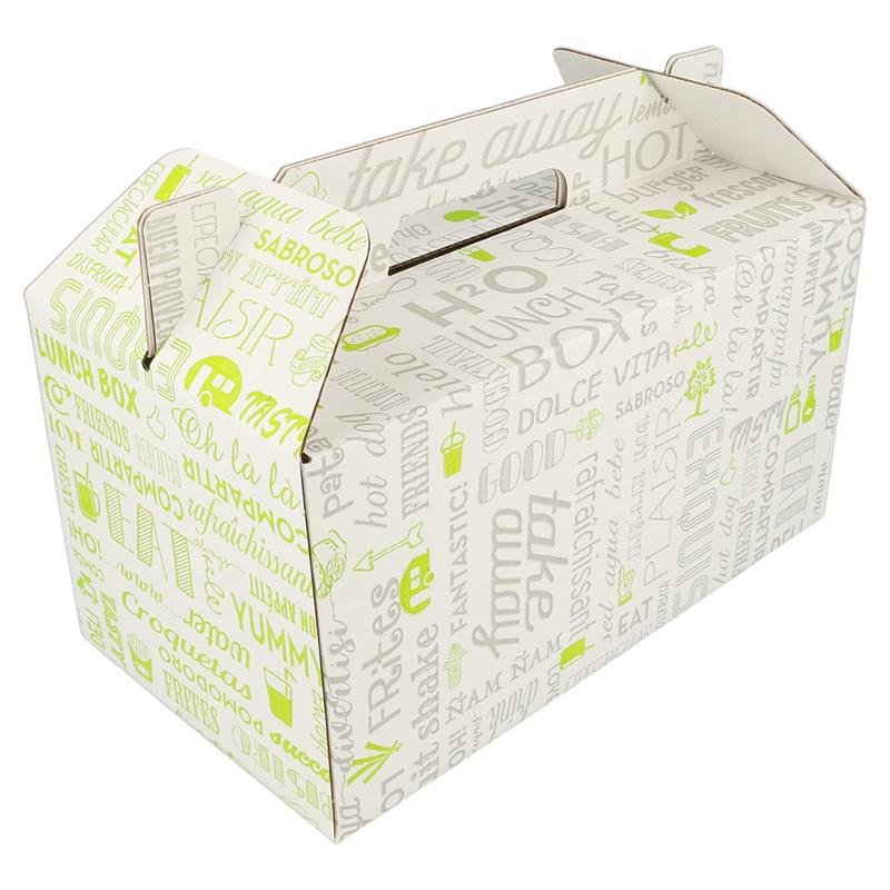 Lot de 100 Boîtes Transport De Repas - Pique-Nique à prix de gros - Boîte déjeuner à prix grossiste