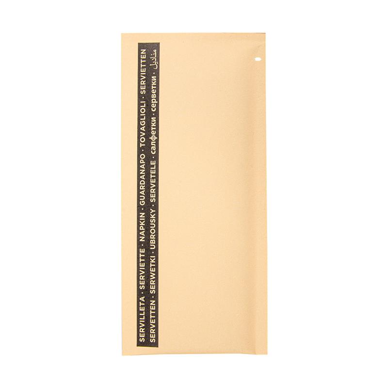 Lot de 250 Serviettes Noires Emb. 33X33 Cm 90 10Pe G/M2 - serviette en papier à prix grossiste