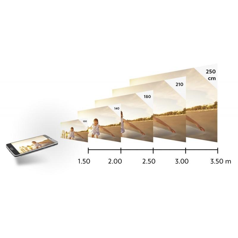 Smartphone Danew Konnect 560 avec projecteur à prix de gros - Home cinéma à prix grossiste