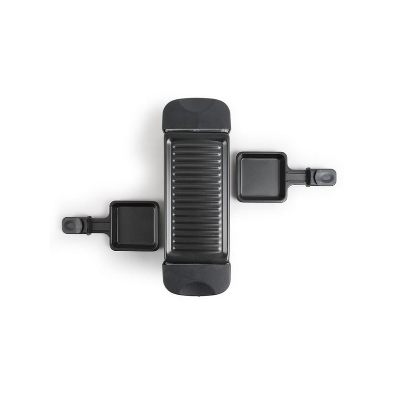 LIVOO - Appareil à raclette 2 personnes - appareil à raclette à prix grossiste
