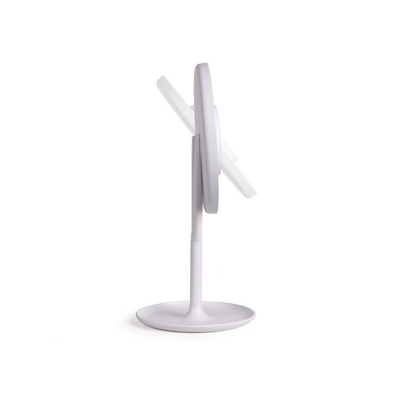 LIVOO - Miroir lumineux tactile sur pied à prix grossiste - Miroir à prix de gros