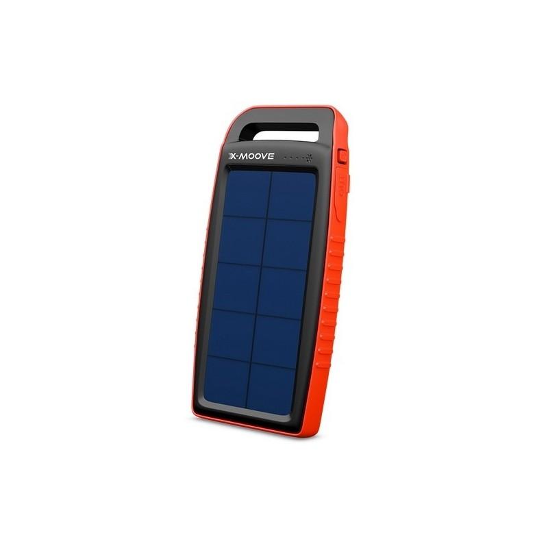 X-MOOVE - Batterie externe solaire Solargo 15 000 - Chargeur solaire à prix de gros