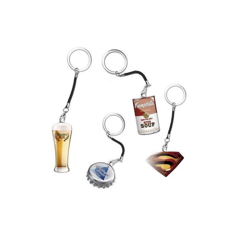 Porte Clé Aktual - Porte-clés métal à prix grossiste