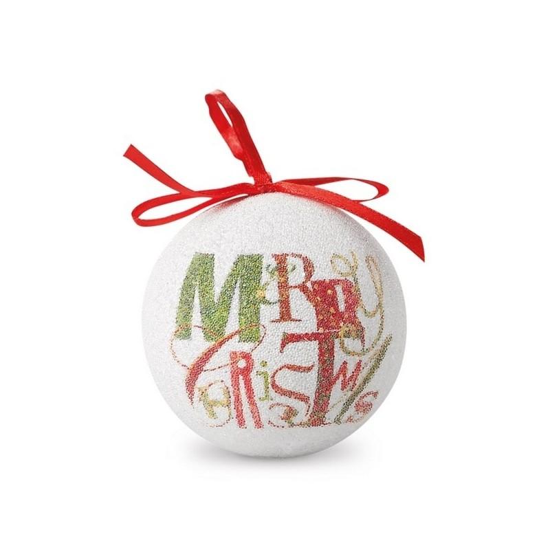 BLANCA - Boule de Noël nacrée - Boule de Noël à prix de gros