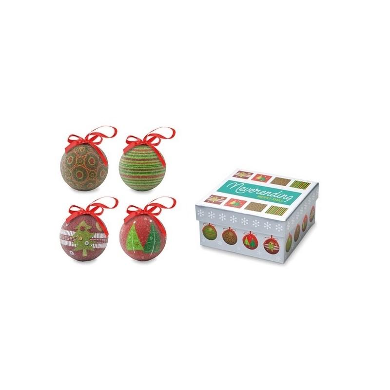 SQUARY - Ensemble de boules de Noël - Boule de Noël à prix de gros