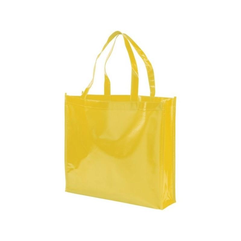 Sac shopping non tissé laminé Shiny - Bullet - Sac à provisions à prix grossiste