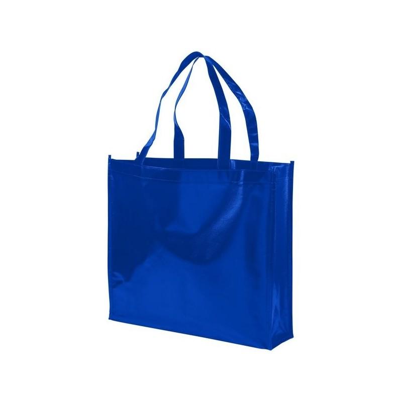 Sac shopping non tissé laminé Shiny - Bullet - Sac shopping à prix grossiste