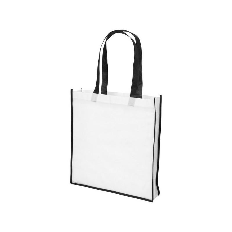 Grand sac shopping non tissé Contrast - Bullet à prix de gros - Sac à provisions à prix grossiste