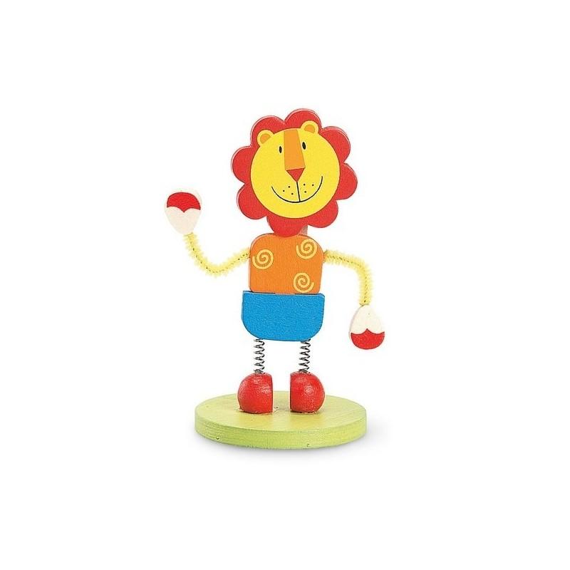 LION. Clip mémo - Clip à papier / porte memo à prix grossiste