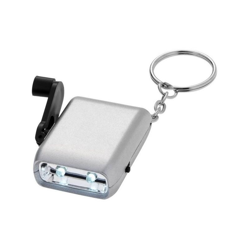Lampe et porte-clés double LED Carina - Bullet - Lampe led à prix grossiste